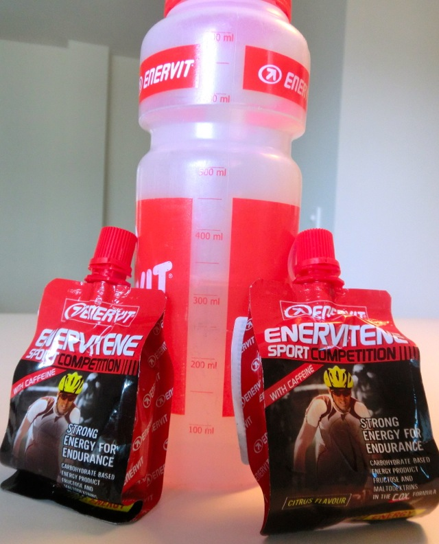 Triallan -Enervit Liquid gels - Nutririon for Norseman