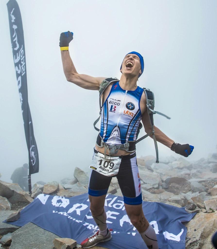 Norseman finish - Triallan - Allan Hovda