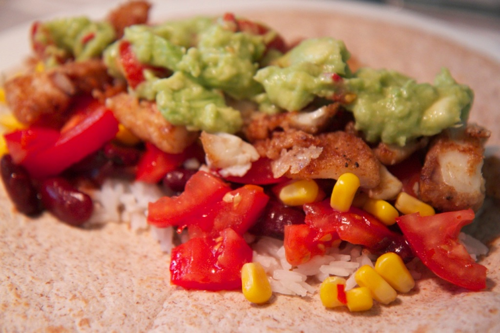 Fish taco - superfood - Triallan