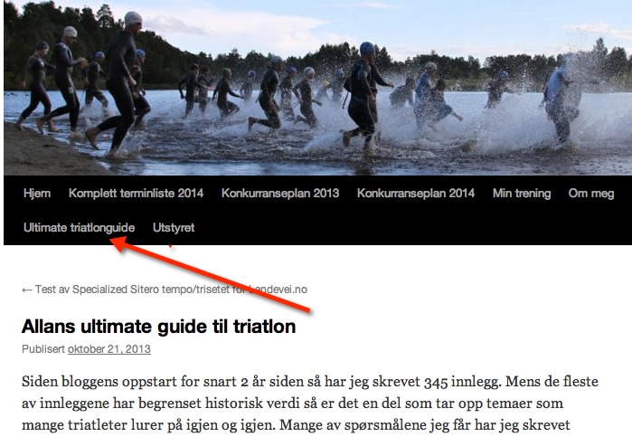 Allans ultimate guide til triatlon
