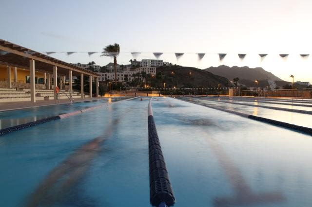 Triallan - Playitas Resort - 50 meter Olympic standard swimming pool