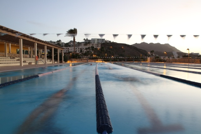 Triallan - Playitas Resort - 50 meter Olympic standard swimming pool