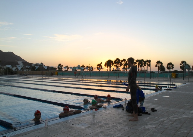 Triallan - Playitas - Fuerteventura - Swimming - sunrise