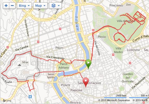 Løpetur i Roma - Løpetips Roma