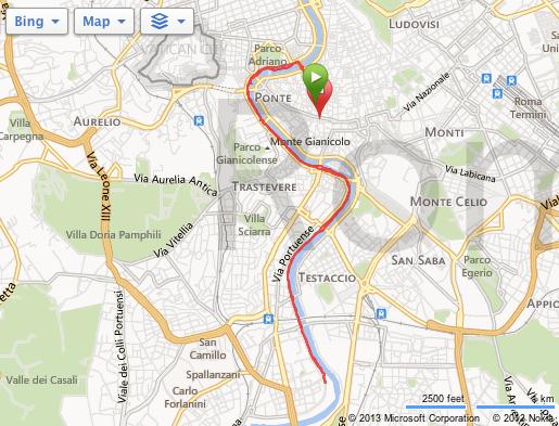 Løping i Roma - Progressiv langtur - Løpetips Roma