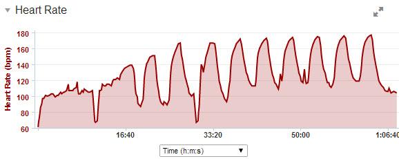 8 x 2 min sykkel - Triallan - Norseman - Formtopping