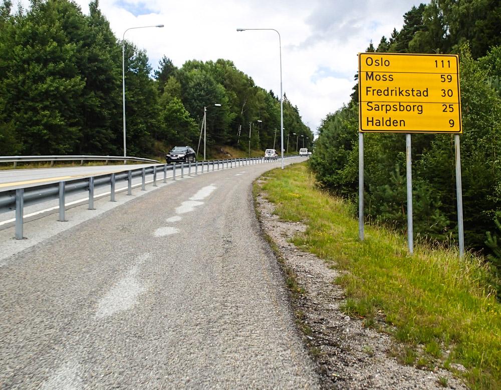 Triallan - Oslo - Svinesund - på sykkel