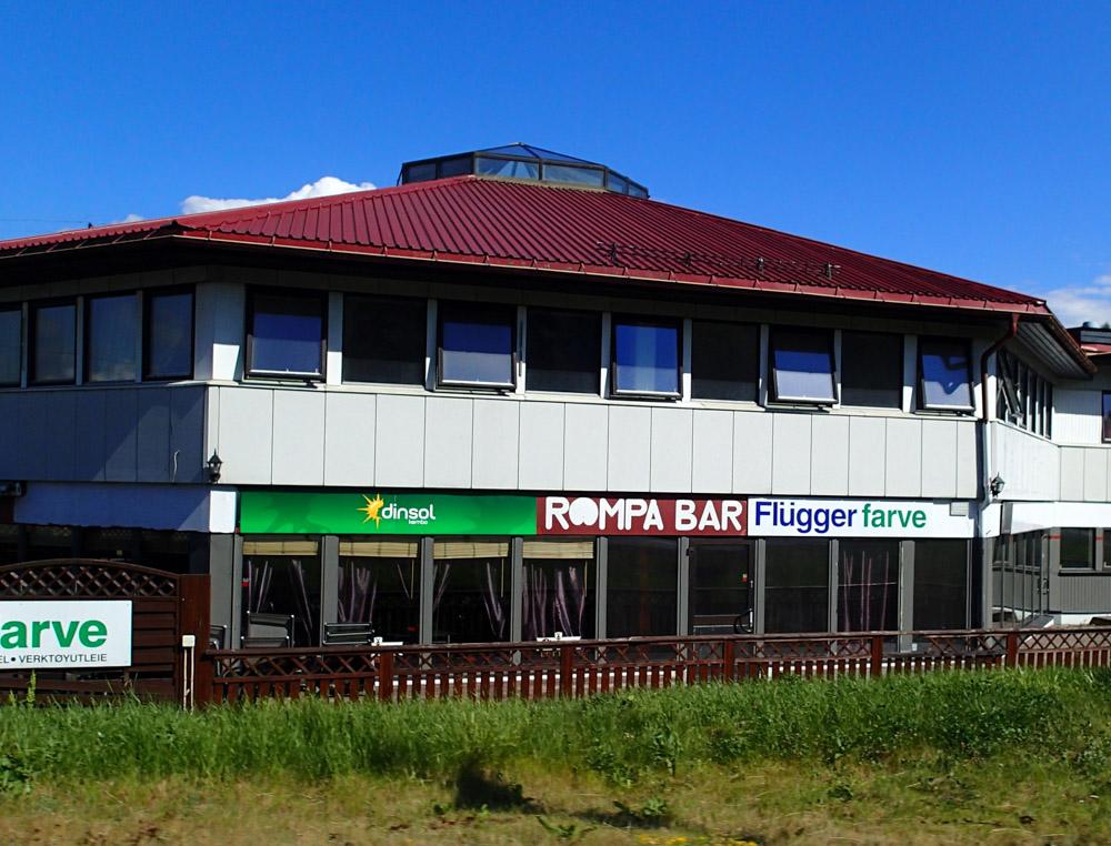 Triallan - Oslo - Svinesund - på sykkel - Rompa Bar