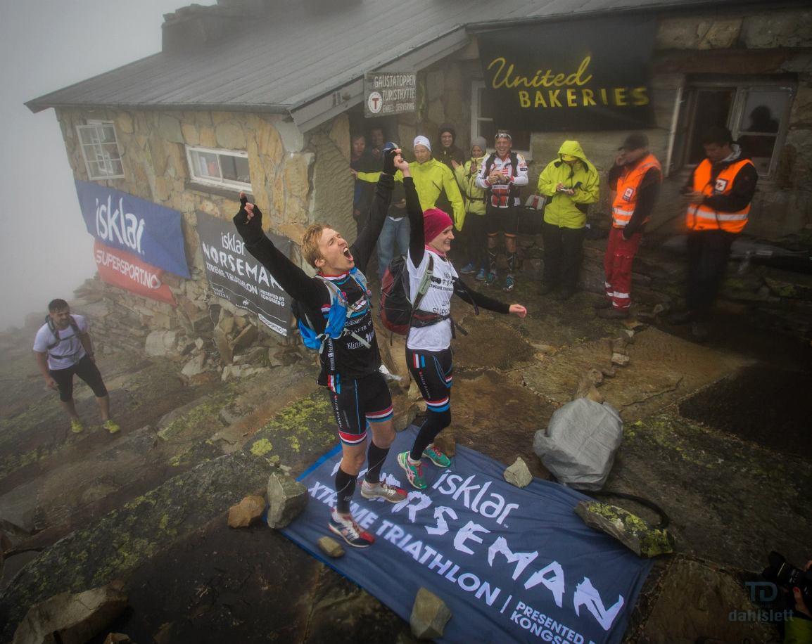 Triallan - Allan Hovda - Norseman 2014 - Winner - HumanSpeed - Austbygdi - Jenny Hovda