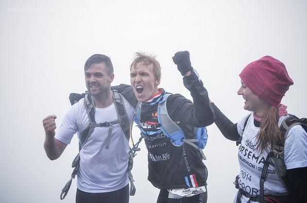 Triallan - Allan Hovda - Norseman 2014 - Winner - HumanSpeed - Austbygdi - Jenny Hovda - Kristian Brynestad