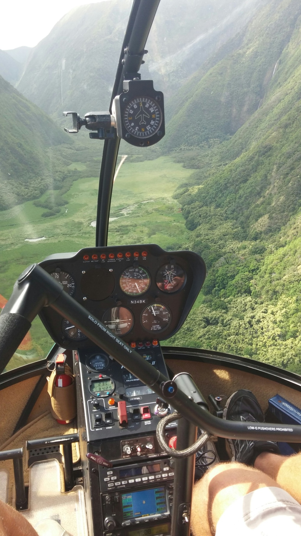 Triallan - Hawaii - Helikoptertur