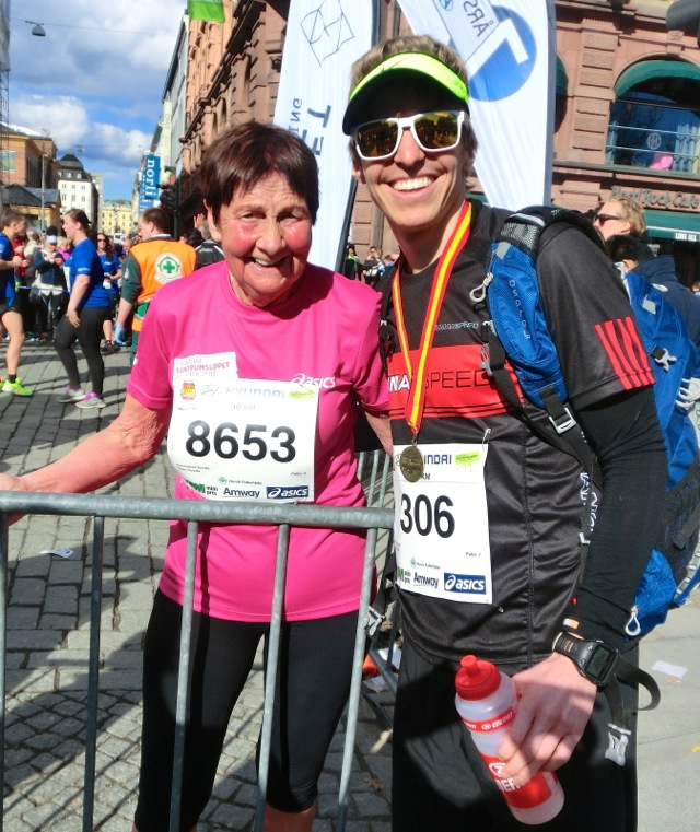 Triallan - Sentrumsløpet - Bestemor