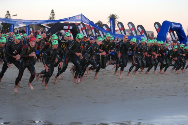 Ironman South Africa - Pro Swim start