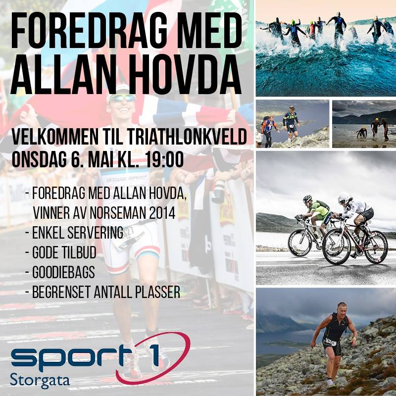 Foredrag Sport1 invitasjon
