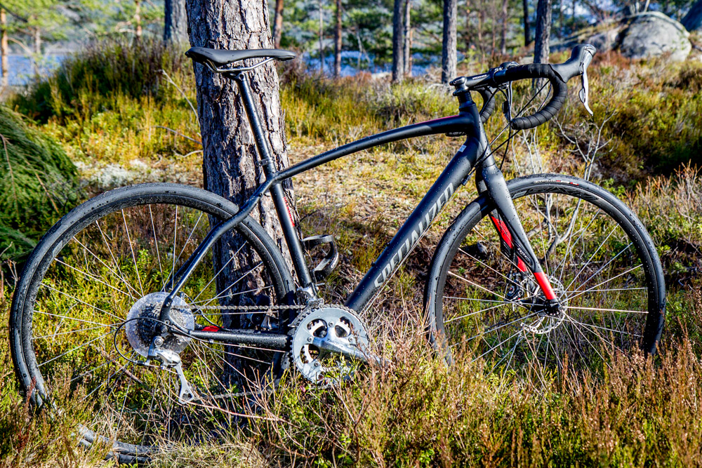 specialized diverge elite a1 - triallan - vinter  høst - vår - sykkel - skivebrems-19