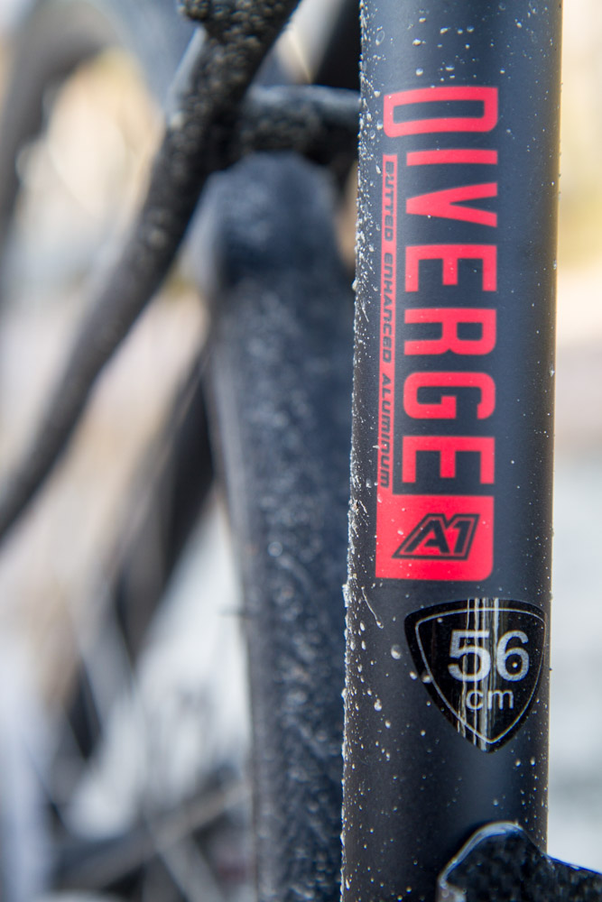 specialized diverge elite a1 - triallan - vinter  høst - vår - sykkel - skivebrems-3