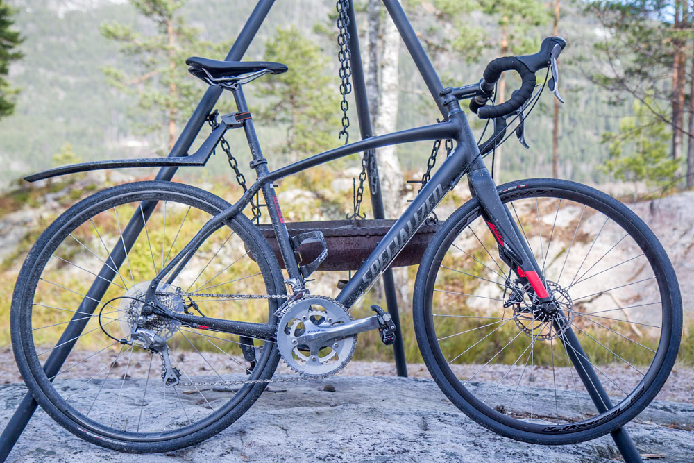 specialized diverge elite a1 - triallan - vinter  høst - vår - sykkel - skivebrems-7