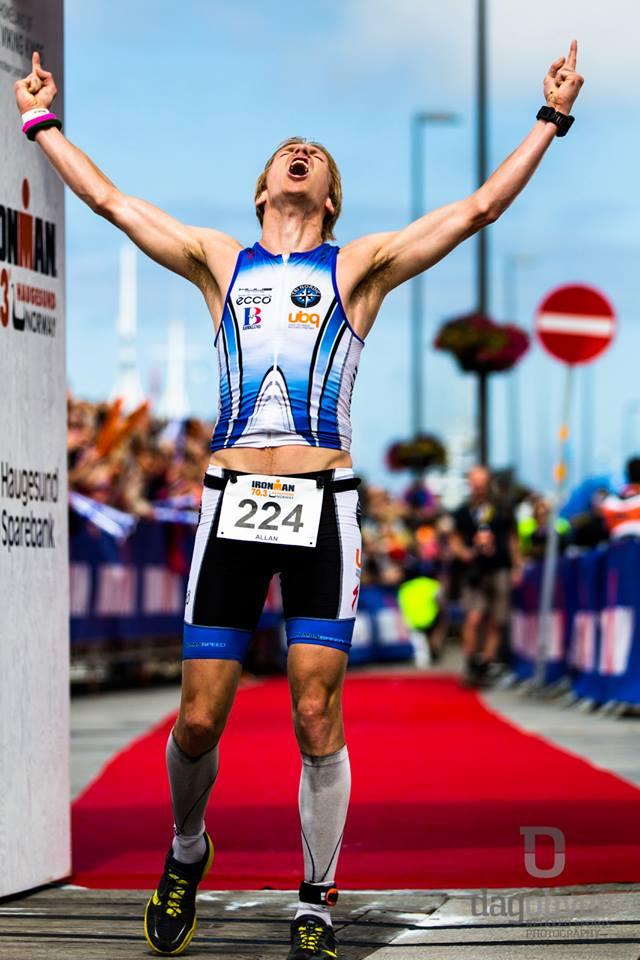 triallan - Ironman Haugesund 2014 - Finisherbildet