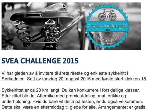 Svea Challenge 2015