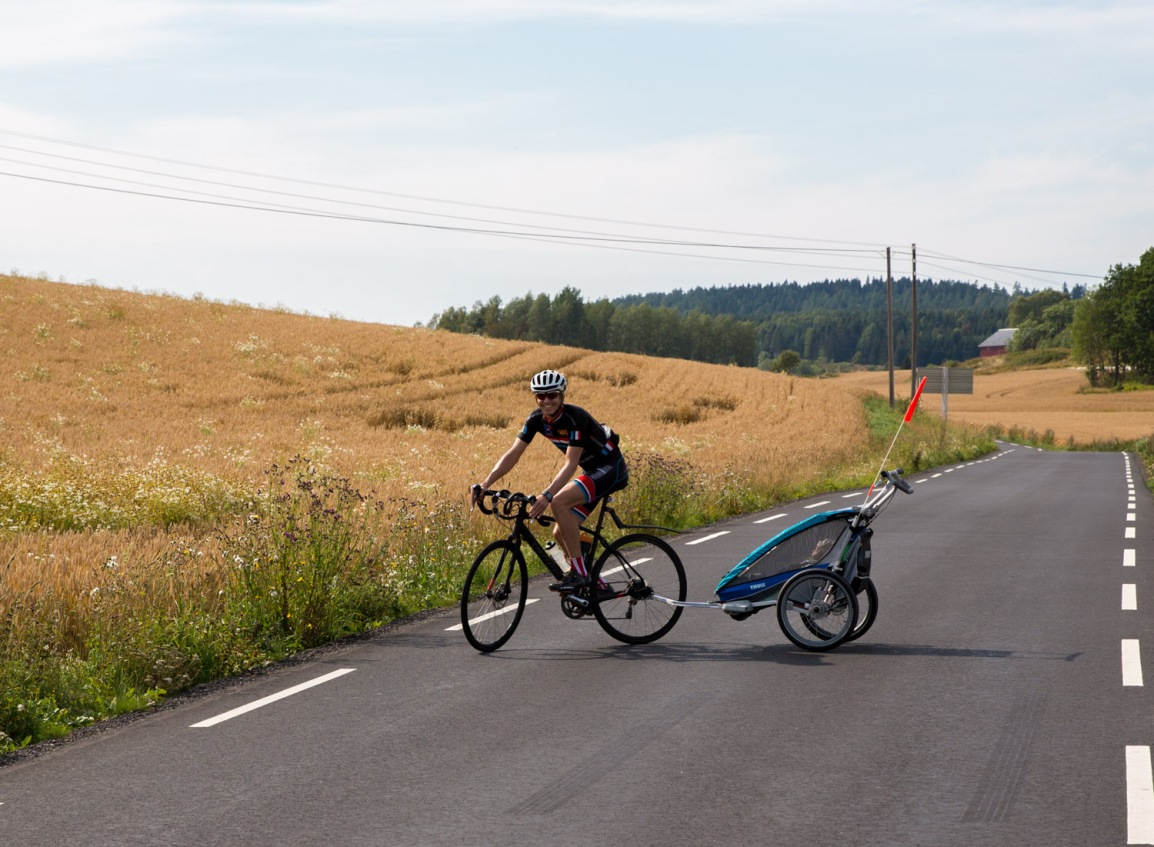 Thule Chariot CX1 - test - triallan - Allan Hovda-3