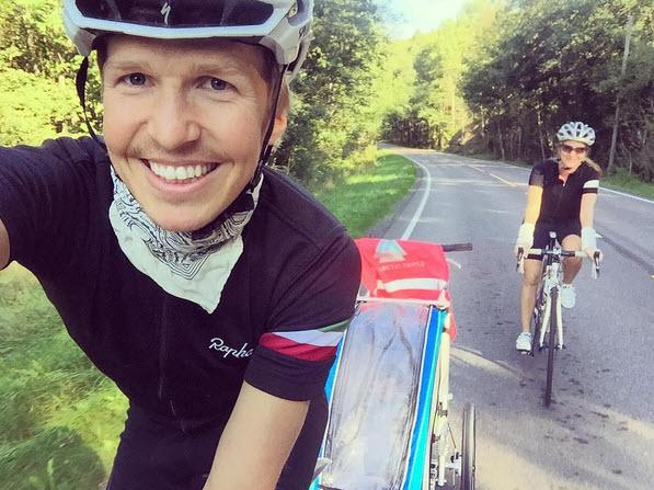 Allan Hovda - Jenny og Jonas - Sykkeltur