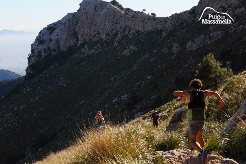 Caimari Epic Trail - Triallan - Allan Hovda - in the lead