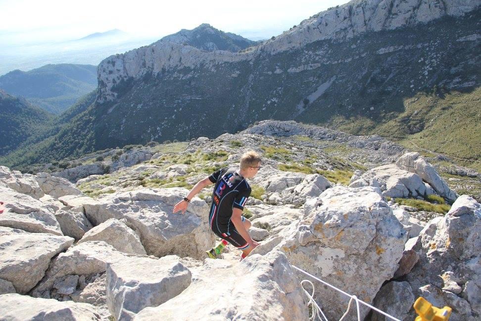 Caimari Epic Trail - Triallan - Allan Hovda - on the way down