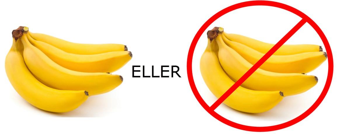 Banan eller ikke banan