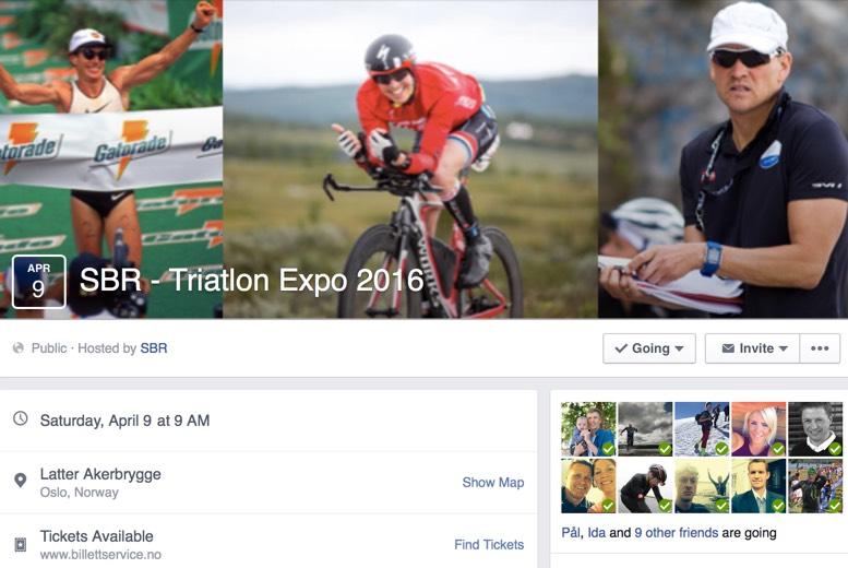 SBR Triatlon Expo i Oslo med Mark Allen, Arild Tveiten ogmeg