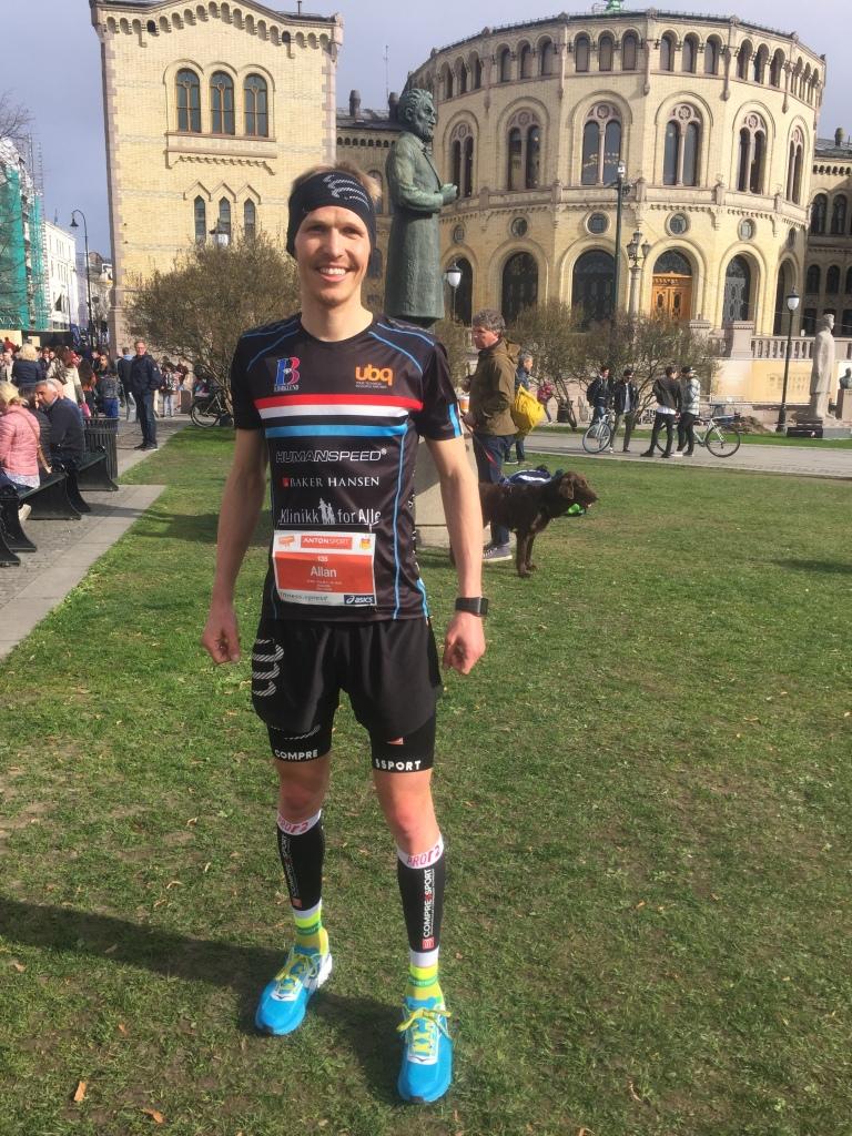 Allan Hovda - Sentrumsløpet 2016