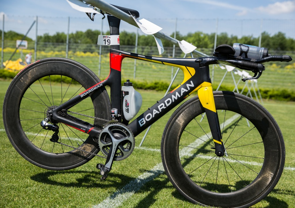 Triallan - Allan Hovda - Ironman 70.3 St.Pölten - Boardman TTE Signature - Race setup
