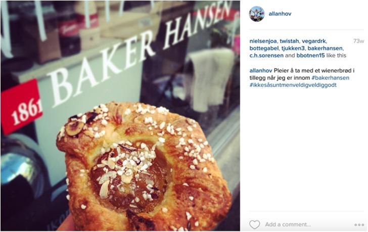 Baker Hansen wienerbrød- Triallan