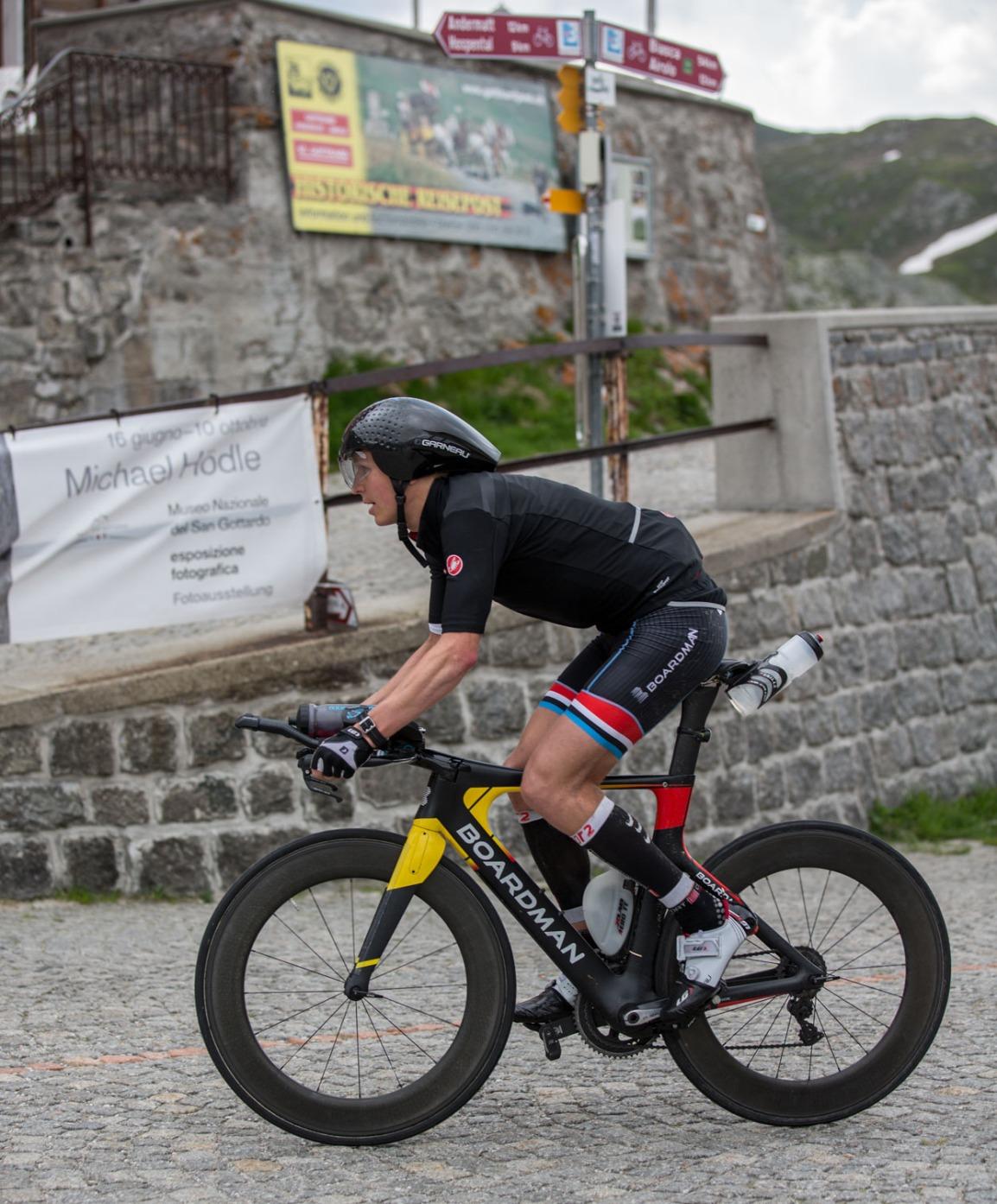 Swissman Xtreme triathlon - Triallan - Allan Hovda - Boardman TTE - Castelli Gabba - Swiss Alps-3