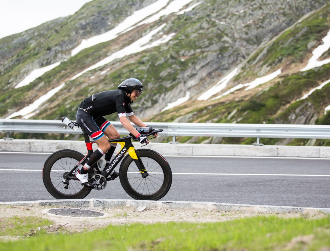 Swissman Xtreme triathlon - Triallan - Allan Hovda - Boardman TTE - Castelli Gabba - Swiss Alps-9