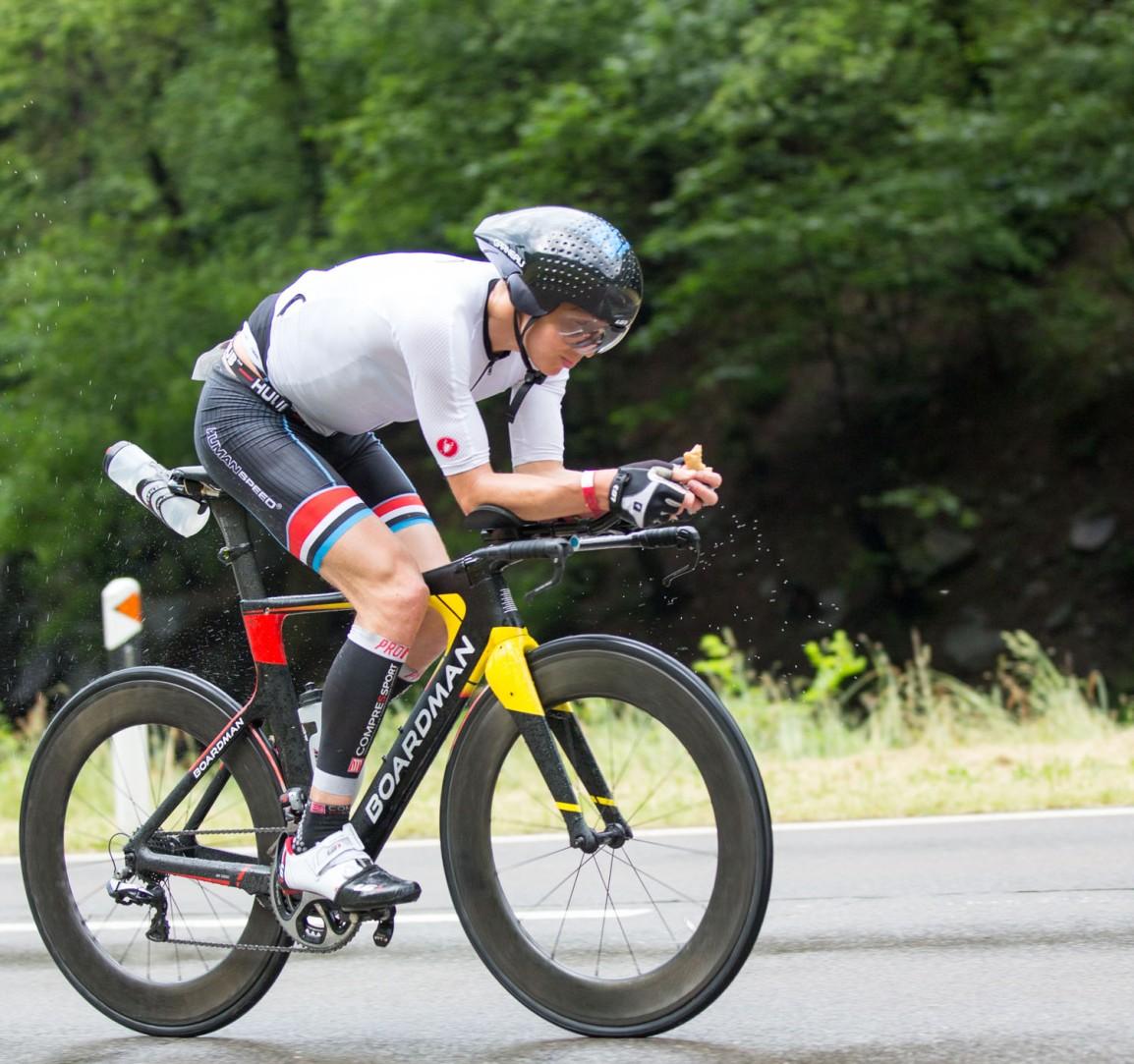 Swissman Xtreme triathlon - Triallan - Allan Hovda - Boardman TTE - Castelli Gabba - Swiss Alps