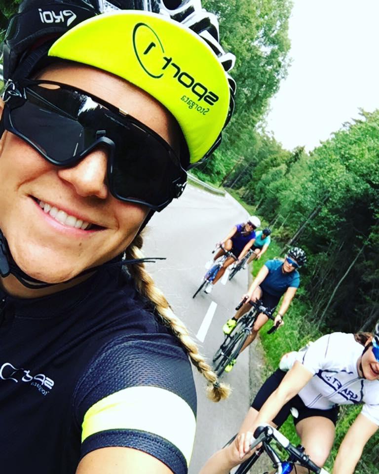 Tricamp 04 - Christine Lampe - Sykkeltur - Sport1 Storgata - Follo