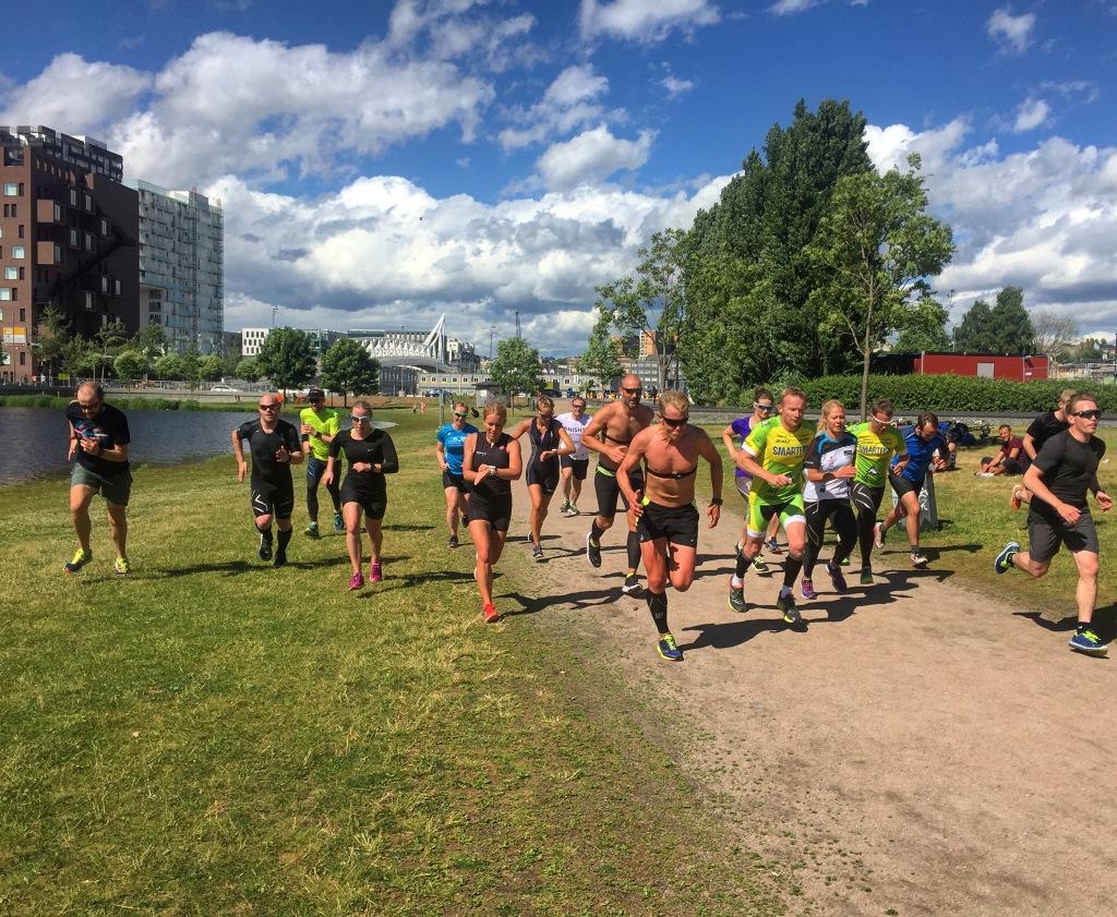 Tricamp 08 - Triallan - løping - Middelalderparken - Allan Hovda