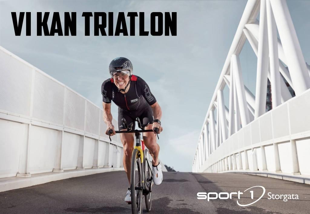 Vi kan triatlon - Sport1 Storgata - Allan Hovda - HUUB - Boardman TTE