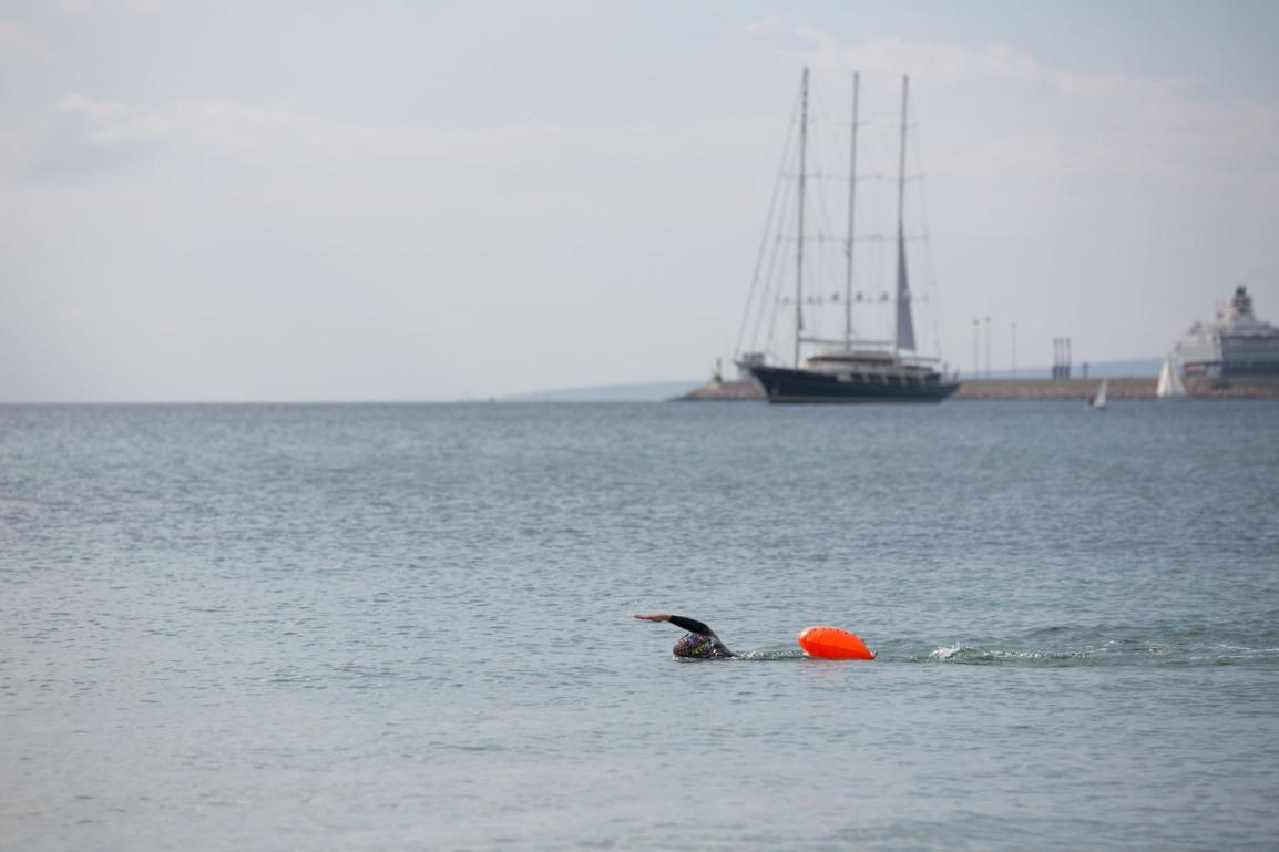 Svømmebøye –  økt sikkerhet ved svømming i åpentvann