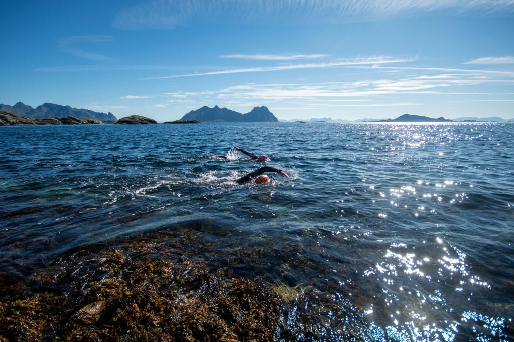 Lofoten Triathlon Extreme 2016 - The Arctic Triple - Triallan - Allan Hovda - Boardman - HUUB - Foto- Kai-Otto Melau
