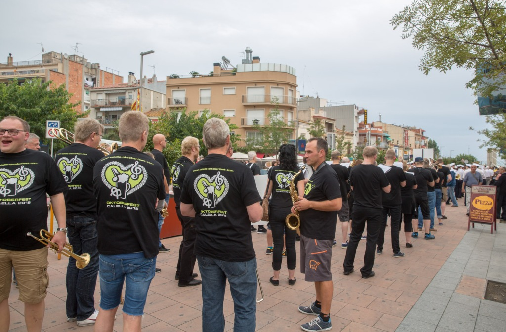 There is a brass band festival at the same time as Ironman Barcelona. Enjoyful gang, but hopefully the dont share the same hotel as you.