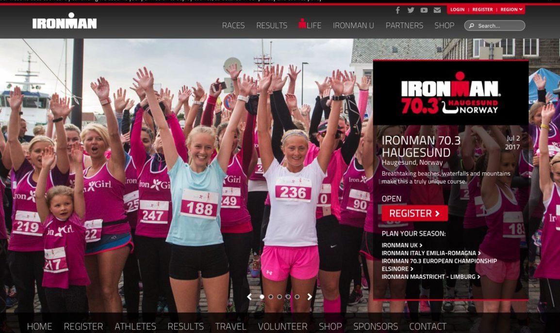 Påmeldt tidenes siste Ironman 70.3Haugesund