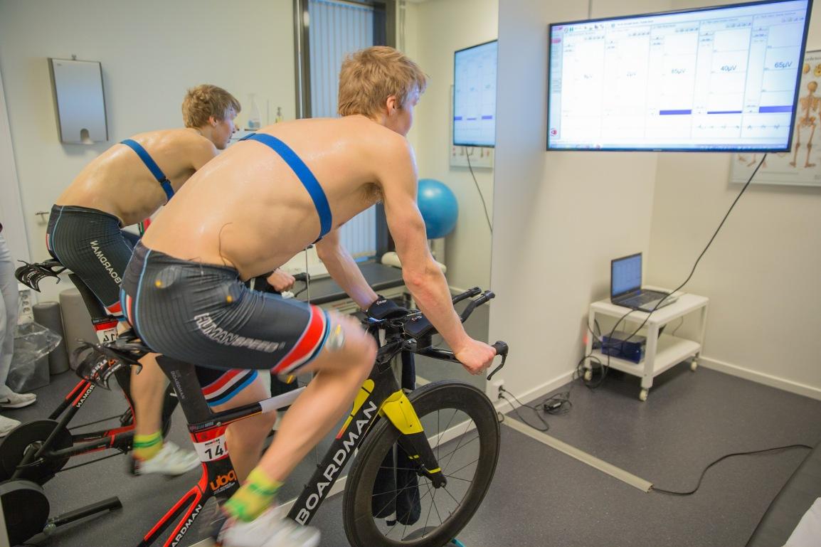 Kartlegging av muskelaktivering undersykling