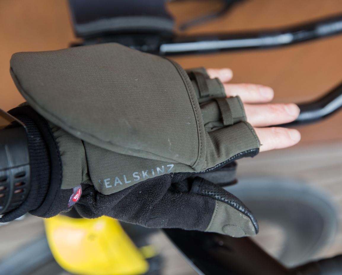 SealSkinz outdoor sport mittens – test av kombihansker for varierendeforhold