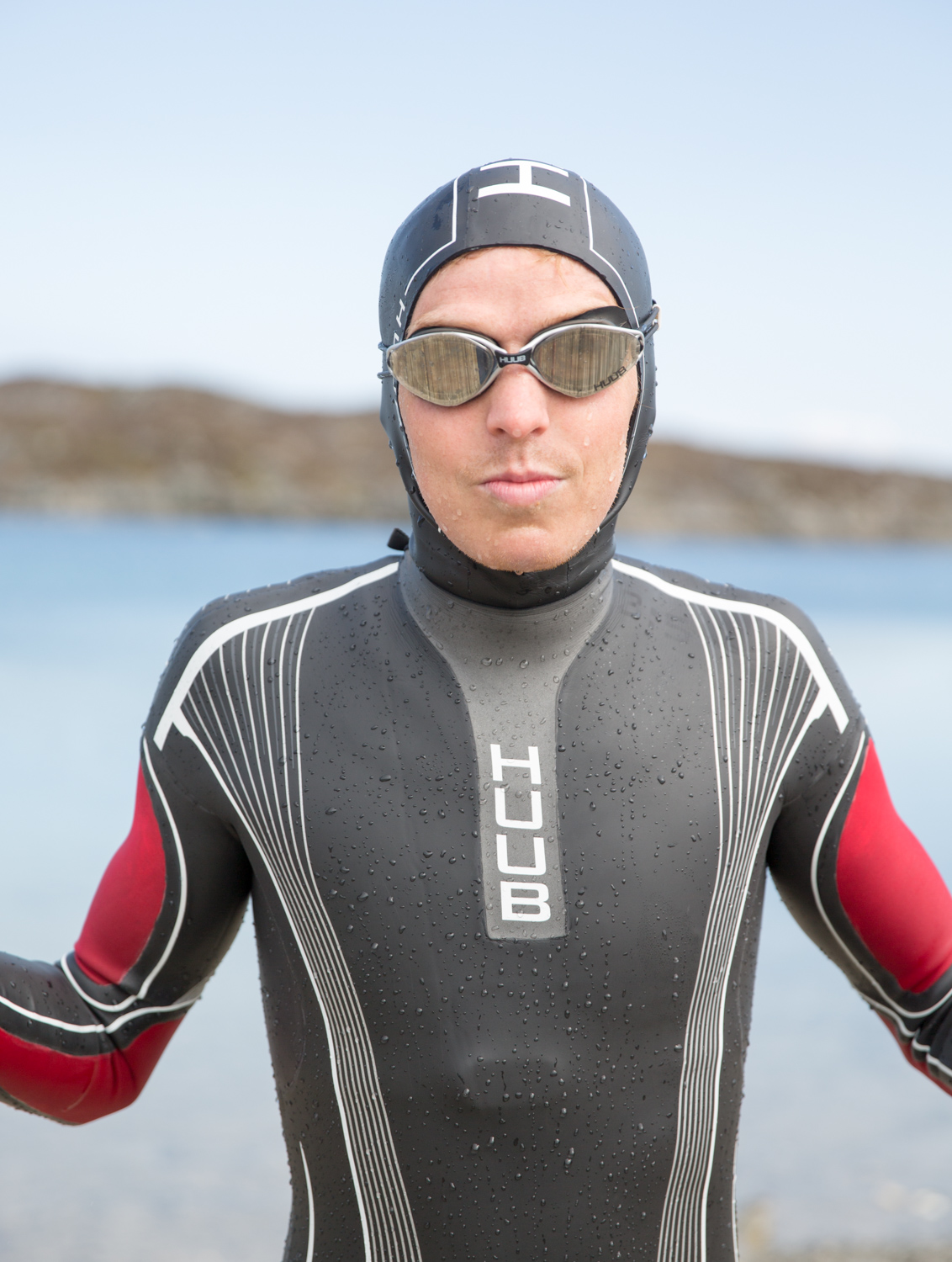 triallan - allan hovda - adrena.no - huub - albacore - altair - balaclava - triathlon wetsuit - cold water swimming - open water