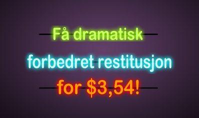 Få dramatisk forbedret restitusjon for$3,54!