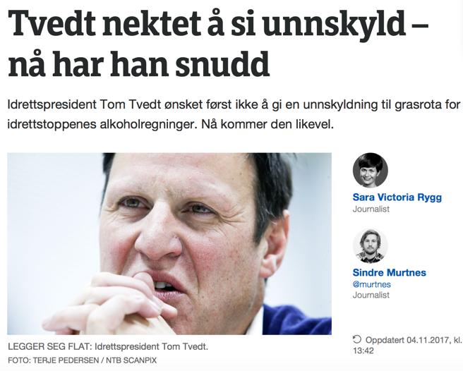 Norges Idrettsforbund – en toppledelse utenbakkekontakt?