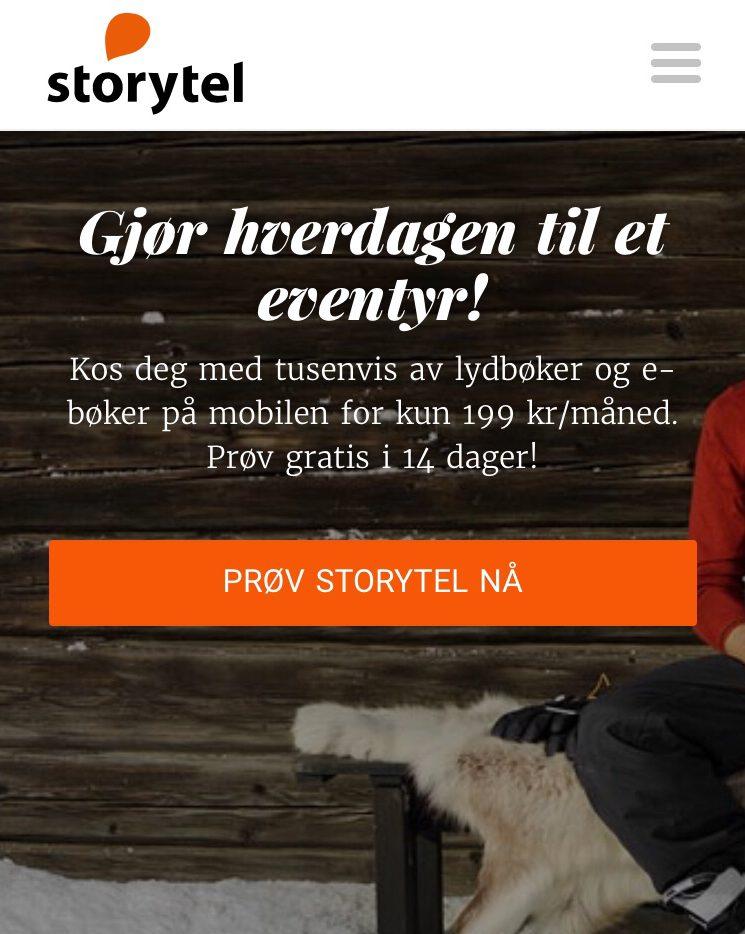 Storytel – enrevolusjon