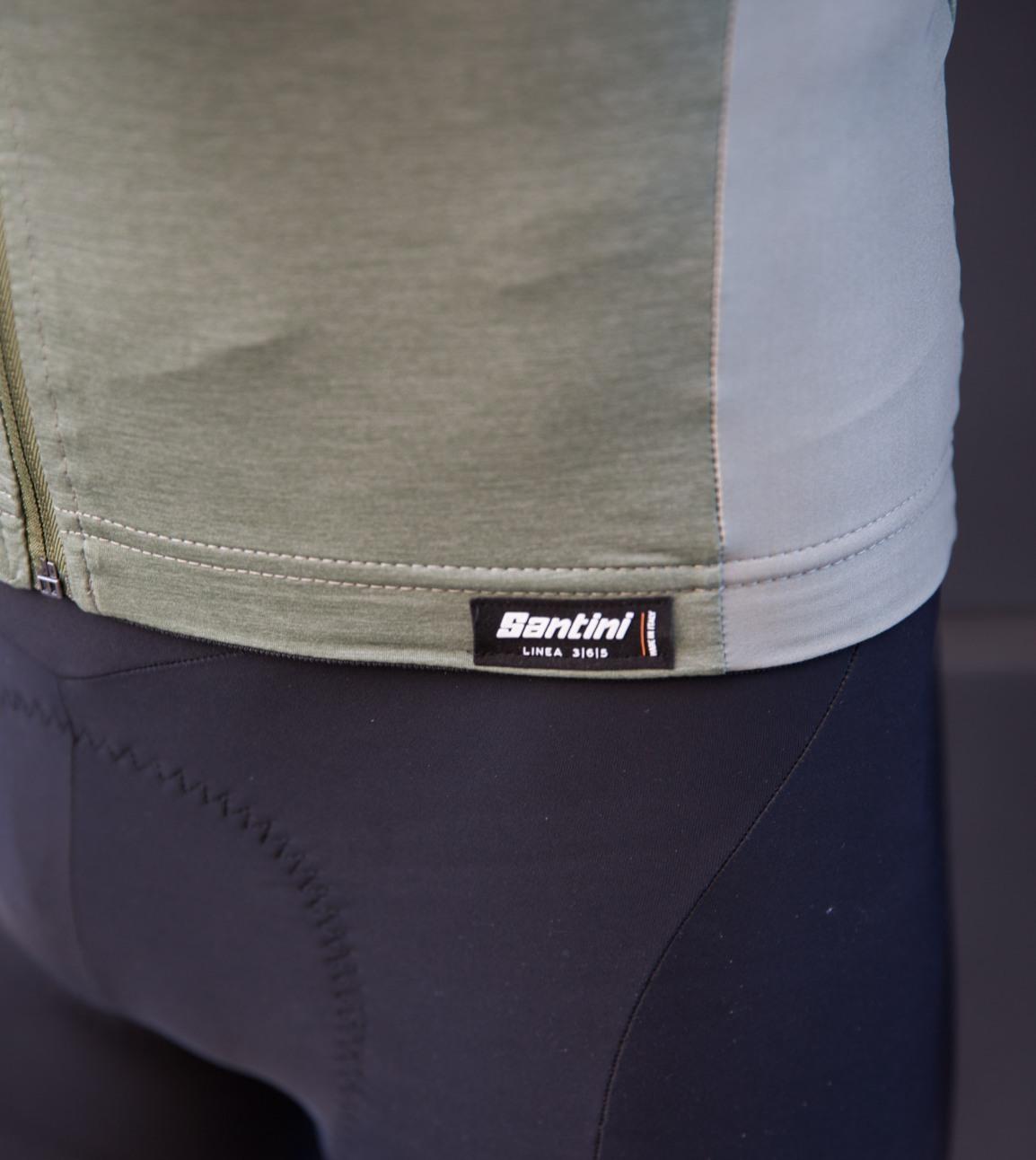 Santini Redux bib + Classe top - triallan - cyling gear-5