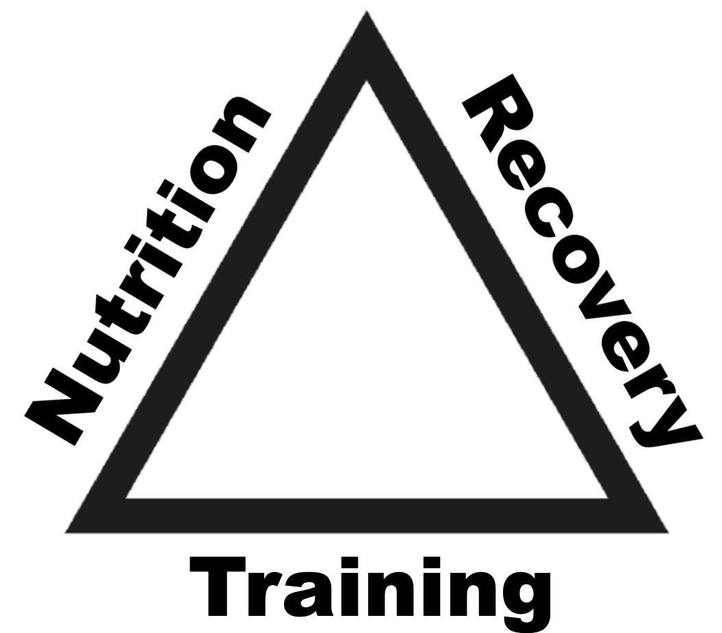 Training, recovery and nutrition – Triathletes Holy Trinity